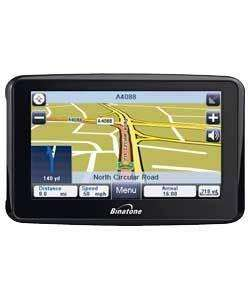 BINATONE F350 UK ROI SAT NAV £27.98 delivered @Argos outlet
