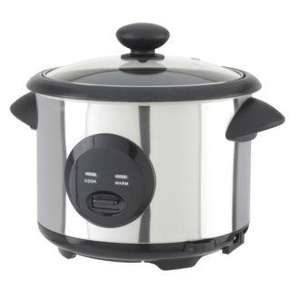 Sainsbury's Stainless Steel Rice Cooker £12.49 Instore @ Sainsburys