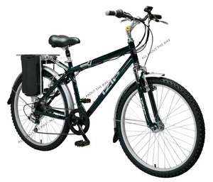 Izip Aspen 2010 Gents 26inch  Electric Bike. £459.58 delivered @ all-about-the-home.co.uk