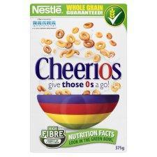 Cheerios 375g 70p at Tesco with printable voucher