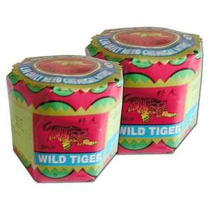 2 x 18g Tiger Balm (Wild Tiger) Jars only 69p @ Home Bargains