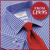 Charles Tyrwhitt Non-Iron Formal Shirts from £19.95, Free Del over £50