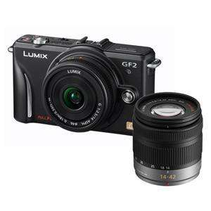 Panasonic Lumix DMC-GF2 Twin Lens Kit in Black plus Adobe Lightroom 3 £399.95 at Jessops plus Quidco