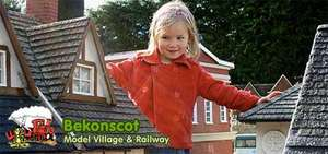 Bekonscot Model village and railway. SAVE 50% only £15 for a family