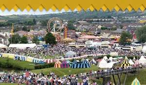 The Big Cheese - FREE food festival, fireworks & castle entry - this weekend in Caerphilly, S. Wales