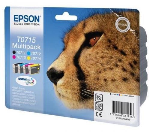 Epson Original T0715 Ink Cartridge Multipack £29.10 @ Dixons + 3% Quico/3.03%TCB