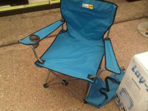 Folding Camping Chair in a bag £9.99 down to £2.99 Homebase (Beckenham)