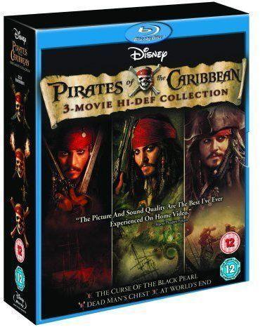 Pirates of The Caribbean Boxset (1-3) (Blu-ray) - £15 @ Sainsburys (Instore)