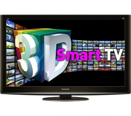 "PANASONIC VIERA TX-P42VT20B 42"" Full HD Plasma 3D TV + S105BG09 TV Stand + 2 Pair of 3D glasses + Wireless adapter £664.06 @ Currys"