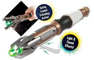 The Eleventh Doctor's Sonic Screwdriver Argos £8.99