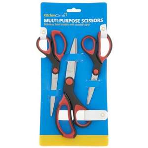 3 Pack of decent Scissors £1 in Poundland