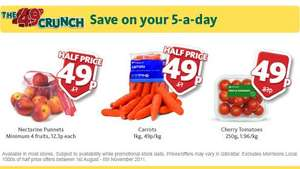 1kg bag of Carrots - 49p @ Morrisons (Instore)
