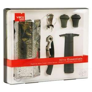 Vacu vin wine essentials kit was £14.99 now £5.99 @ Argos