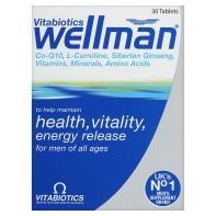 ASDA - Wellman Vitamins £8.15 or 3 for £10
