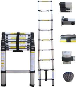 Aluminium Telescopic Multi Function Ladders New 3.85m £59.99 del @ Planet Gizmo (ebay)