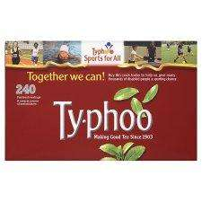 Typhoo tea bags box of 240 for £2.64 at Tesco