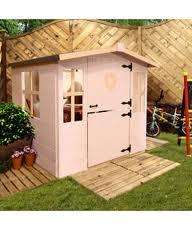 wooden 4ftx4ft playhouse half price @homebase use 15% code to get it for £126.65