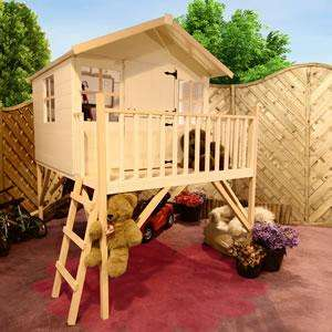 Junior Tower Playhouse 4ft x 6ft @ Homebase - £178.10 Delivered (ends Sunday)