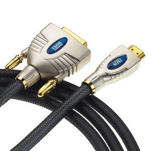 IXOS Home Theatre HDMI to DVI-D 1080p (male & female) 3m cable £1 @ Poundland