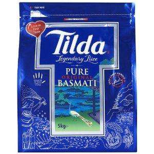 5kg Tilda basmati rice now only £6.99 delivered @ Amazon