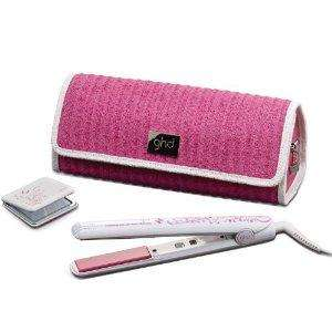 ghd Pink Limited Edition Mark 4 Styler Straightener with Pink Pouch and Compact Mirror £89 @ AMAZON