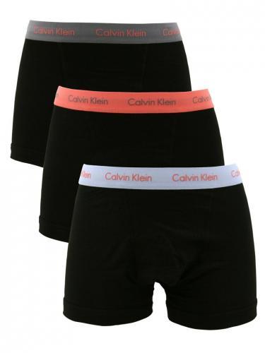 Calvin Klein Black/Pink/Grey/Sky 3 Pack Trunks - M/L Sizes £21 @ Amazon