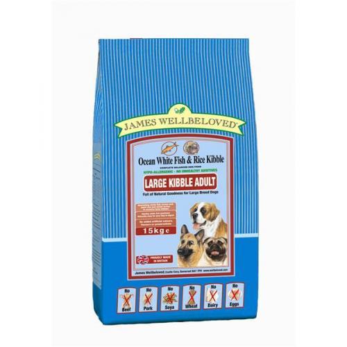 James Wellbeloved 15kg dog food £29.99 delivered @ GJW Titmuss