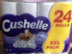 Cushelle Toilet Tissue White 24 Roll For £8.00 @Tesco instore