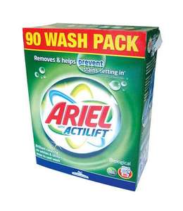 ARIEL Laundry Powder £10.99 per pack, was £18.49 (save 40%) @ Makro Instore