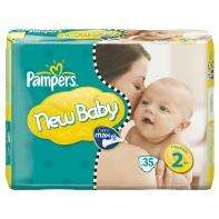 2 for £10 @ ASDA  Pampers new baby  nappies size 1, (54 packs)