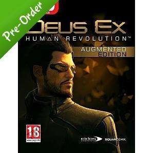 Deus Ex 3: Human Revolution (PC) - Augmented Edition? £24.97 @ Asda Direct