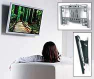 AVF NEXUS FP1001 TILTING TV WALL MOUNT £18.24 del @ Halfcost