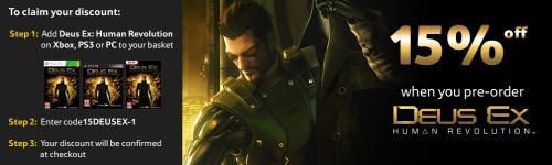 Deus Ex: Human Revolution 33.98 @ Tesco Ent