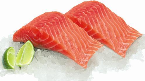 Fresh Salmon Fillets 1/2 price @ Morrisons Fish Counter £6.49 per kilo