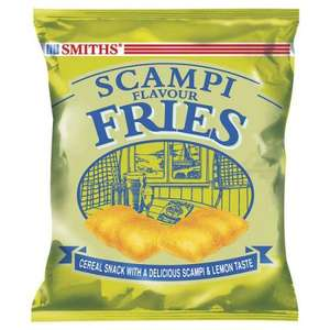 6 pack Smiths Scampi Flavour Fries/Bacon Fries - £1! Poundland