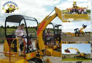 Tickets to Diggerland half price until midnight - normally £17 only £8.50