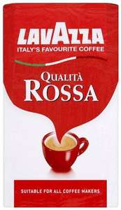 Lavazza Qualita Rossa Coffee 500 g (Pack of 2) RRP £13.97 Now £8.33 @Amazon