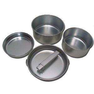 Yellowstone Aluminium 5 Piece Cook Set for camping, festivals, and so on. £6.18 Delivered @ Amazon