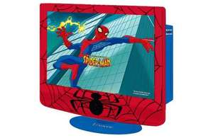 Spider-Man 15.4 Inch LCD TV and DVD Player Combi only £109.99  @ ARGOS was £249