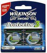 Wilkinson Sword Protector 3 Blades 8 Pack  6.95 @ Boots