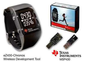 Texas Instruments Chronos Wireless Watch- Sports watch and programable watch £15 Del. @ Texas Instruments