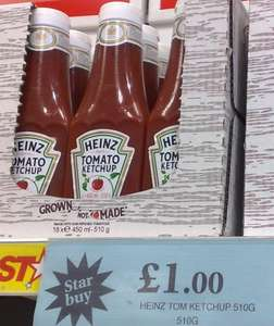 Heinz Tomato Ketchup 510g £1 @ Home Bargains (in-store)