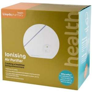 Lloyds Pharmacy Ionising Air Purifier - Reduces Allergies and Asthma £3.50 BUY ONE GET TWO FREE!!!