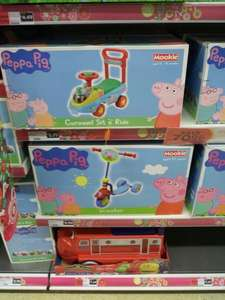 Sainsbury's Outdoor Toys 70% off e.g. Peppa Pig tri scooter