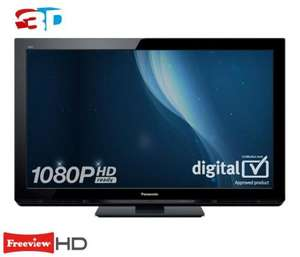 PANASONIC VIERA TXP42UT30 42 inch 3D Plasma TV 1080p HD Ready Freeview HD £499.95 or £549.94 with 5 Years Warranty from Richersounds instore or Delivery is £24.99.