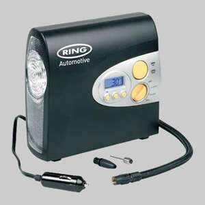 Ring Automotive RAC600 12V Digital Air Compressor Inc Storage Bag @ Amazon - £16.00 (Free Delivery) and Ring Automotive RAC610 12V Analogue Compressor @ Amazon - £9.95 (Free Delivery)