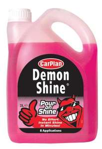 Demon Shine £2 for 2 litres, many other CarPlan Products also £2 @ Asda