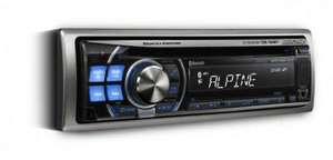 Alpine CDE-103BT CD / Radio Stereo Headunit HALF PRICE at Halfords