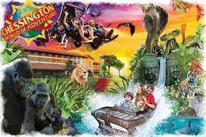 Half price entry tickets to Chessington World of Adventure from £13.80 @ Groupon
