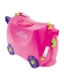Various Trunki Suitcases - From £24.95 (Plus Receive a £10 Voucher) @ Mothercare